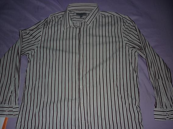 E Camisa De Vestir Old Navy Rayada Art 10499