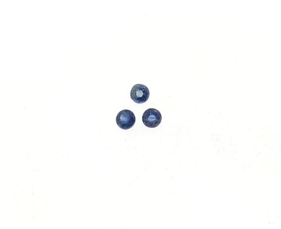 Safira Azul 0,61 Ct . Peso Total: 0, F-2417