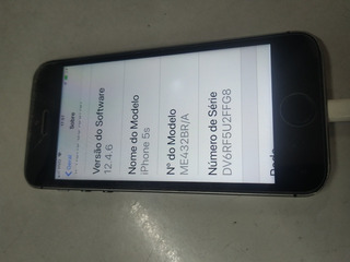 Celular Apple S5 Usado