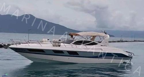 Imagem 1 de 8 de Lancha Real 38 Mercruiser Diesel Tdi260hp - Marina Atlântica