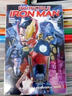 Cómic Invincible Iron Man Vol. 2 Máquinas De Guerra