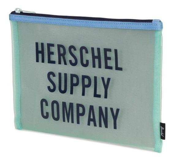 Organizador Herschel Network Large Mesh Azul
