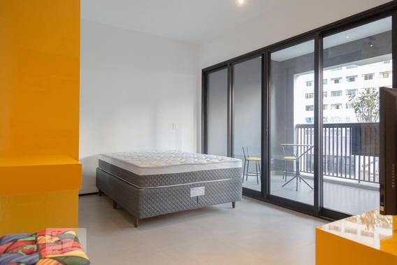 Apartamento Para Aluguel - Santa Cecília, 1 Quarto, 33 - 893121450