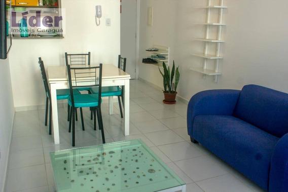 Apartamento Com 2 Dormitórios Para Alugar, 48 M² Por R$ 2.000,00/mês - Martim De Sá - Caraguatatuba/sp - Ap0456
