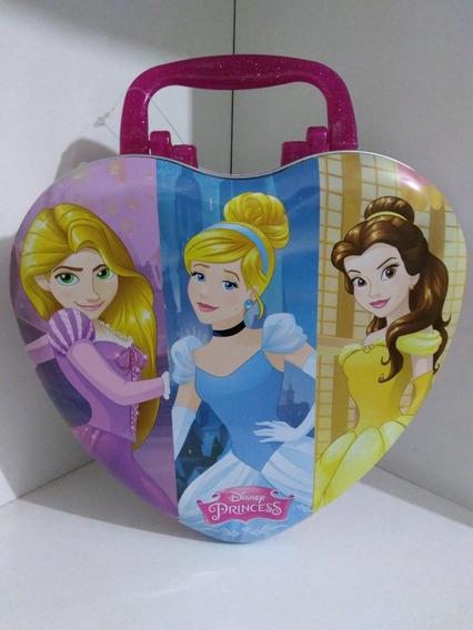 Kit Perfume Infantil Disney 100 Bela Cinderela Com Lancheira