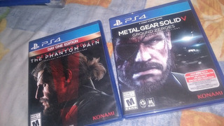 Metal Gear Solid Pack Ps4