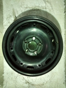 Roda Ferro Original Vw Volkswagen Aro 14 Fox Polo Golf 5x100