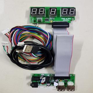 Timer Corta Corriente 110v 2tv + F+3 Chapa +6micro Arcade