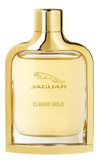 Jaguar Classic Gold Perfume Masc. - Edt 40ml Beleza Na Web