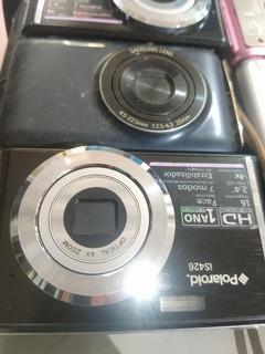 Kit 09 Câmeras Polaroid Sony Canon No Estado
