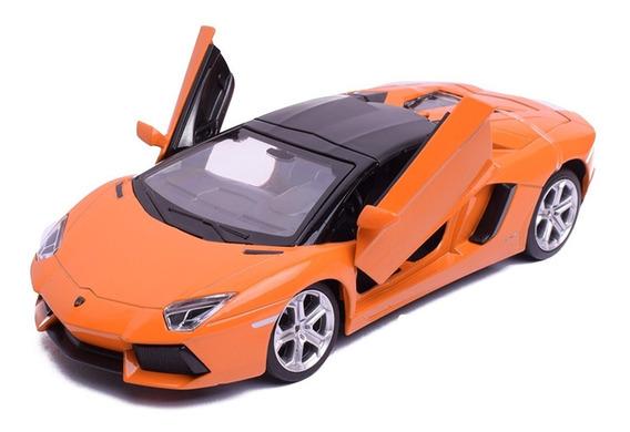 Auto De Coleccion Lamborghini Aventador Escala 1:24 Msz