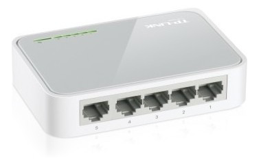 Switch 5 Puertos Tp-link Tl-sf1005d Minidesktop