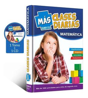 Mas Clases Diarias Matemática 2º Ciclo + Cd De Actividades