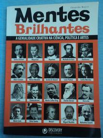 Livro-mentes Brilhantes:eduardo Nojiri:discovery:usado