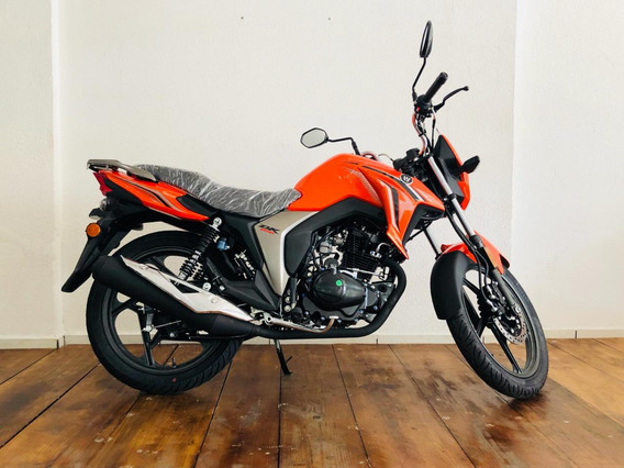 Moto Haojue Dk 150 Laranja 2019 0km Busca Cg Ybr Titan