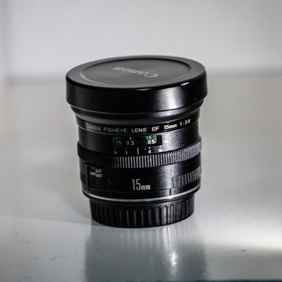 Lente Canon.full-frame Ef 15mm F/2.8 Fisheye