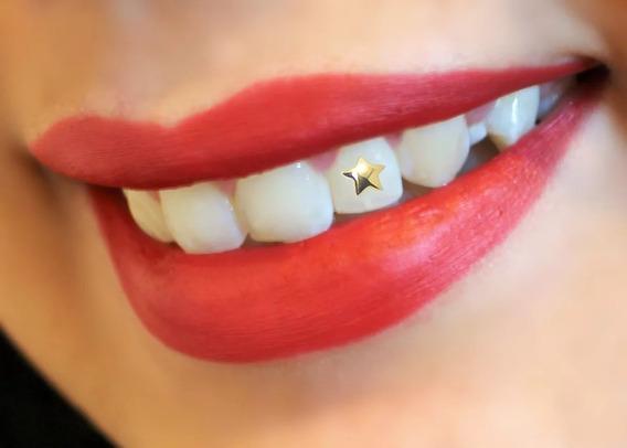 Piercing De Dente Em Ouro 18k