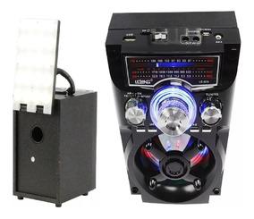 Rádio Bluetooth Am/fm Moderno Bateria Solar Energia 110/220v