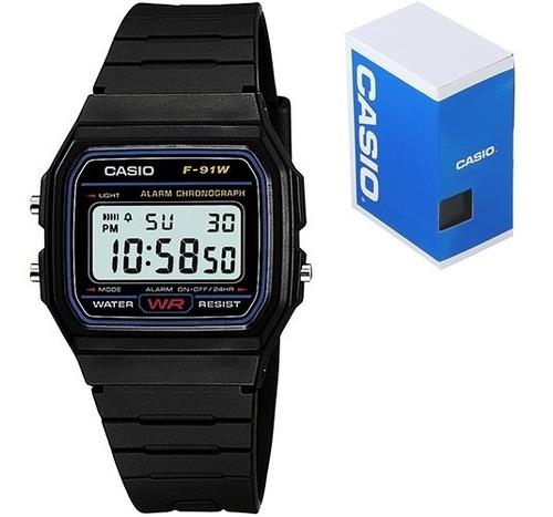 Reloj Casio Retro F91 Moda Retro Vintage 100% Original