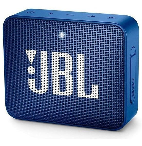 Speaker Jbl Go 2 Com Bluetooth/auxiliar Bateria De 730 Mah -