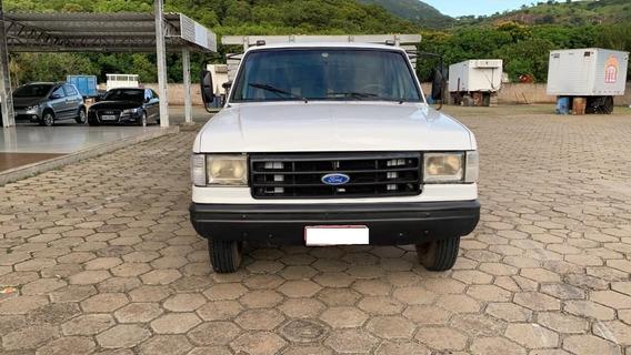 Ford F4000, Ano 1995,cor Branca, Carroceria
