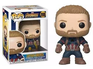 Funko Pop Avengers Infinity War Capitan America 288