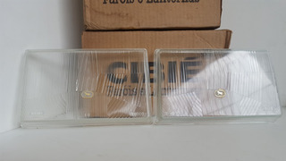 Lente Vidro Farol Gol Voyg 87/90 Bi-iodo C/cavalinho Cibié