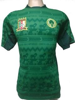 Camisa Camarões Verde Eto´o + Outro Time Kit 2 Peças