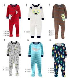 Macacão Pijama Carters Meninos Original Vários Modelos