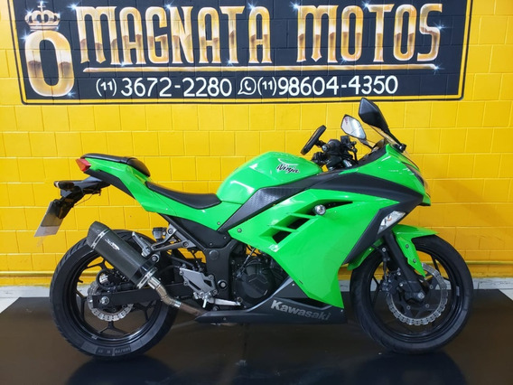 Kawasaki Ninja 300 - 2013 - Verde - Km 40.000