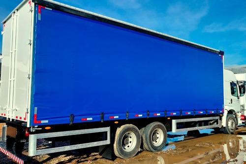 Imagem 1 de 8 de Caminhão Vw 24.280 Com Baú Sider - Leito Teto Alto Mecânico