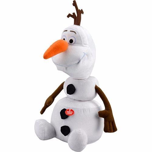 Pelúcia Frozen Olaf Só Pelucia - Multikids (ver Descriçao)