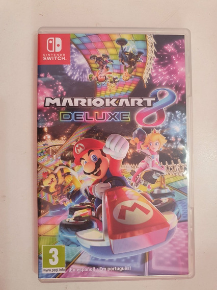 Jogo Mario Kart 8 Deluxe Nintendo Switch