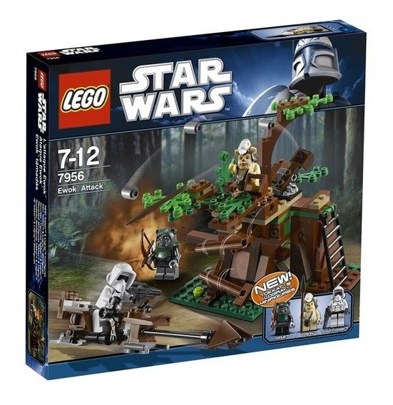 Todobloques Lego 7956 Star Wars Ewok Attack