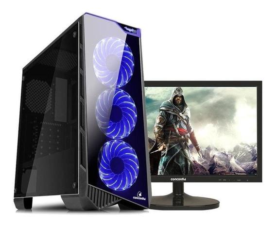 Pc Gamer Athlon 200 Ge Ryzen Monitor 8 Gb Hd 2 Tb Desconto