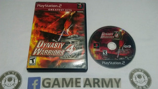 Dinasty Warriors 4 Ps2