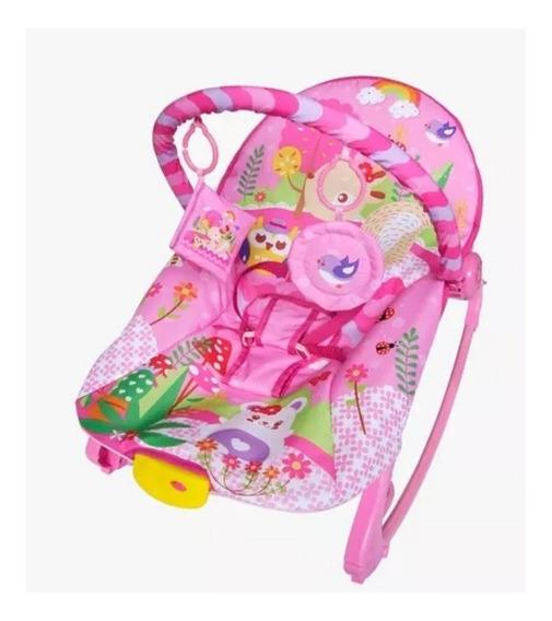 Cadeira Bebê Descanso Balanço Vibratória Musical 18kg Rocker