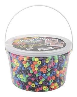 El Cubo De Neon Beadedy Ultra Kandi Rave Bead Multicolor