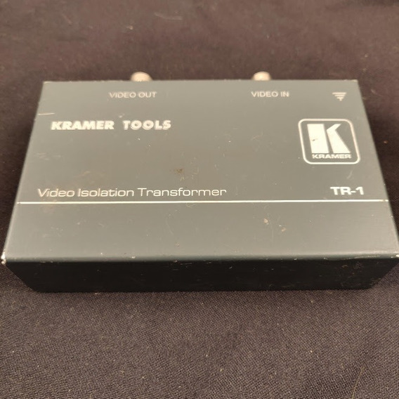 Kramer Tr-1 Video Isolation Aislante Transformador Pasivo