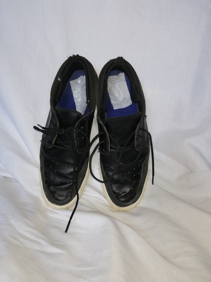 Zapatillas Talle 7 Usa, Made In Indonesia, Negras