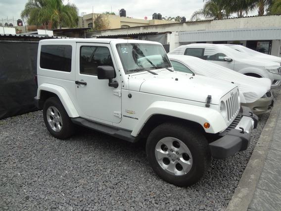 Jeep Wrangler 2015 Sahara 4x4, Piel, Un Dueño, Automatico