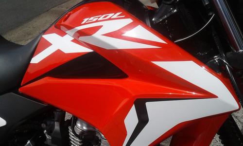 Imagen 1 de 10 de Honda Xr 150 L 2021 Ahora 12y18 0km Financiala Centro Motos