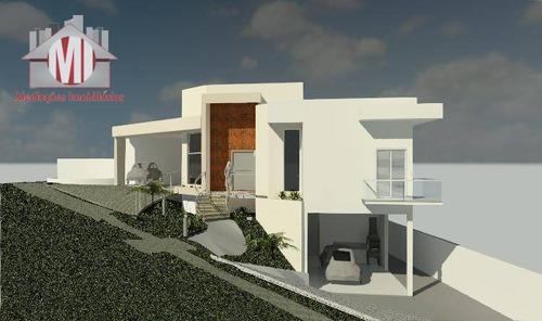 Casa Em Condomínio, Projeto Arquitetônico, Com Escritura, 03 Dormitórios, À Venda, 400 M² Por R$ 900.000 - Condomínio Vila Real - Bragança Paulista/sp - Ch0935