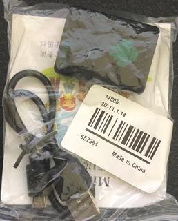 Mini Microfono Espia Usa Tarjeta Sim Recibe Llamadas Ocultas