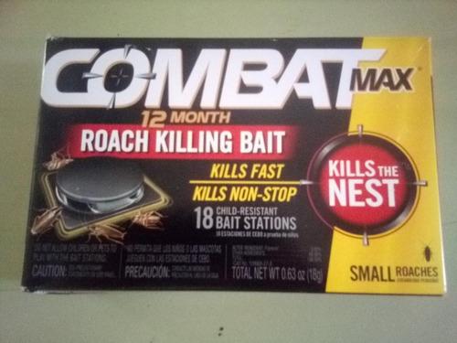 Combat Max Roach Killing Bait 18 Estaciones De Sebo Small