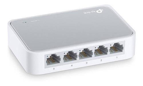 Switch Tp Link Tl-sf1005d 5 Puertos 10/100 Mbps Ethernet