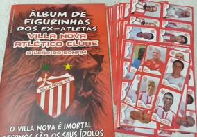 Album Vila Nova Historico Ex Atletas Completo Colar Figurinh