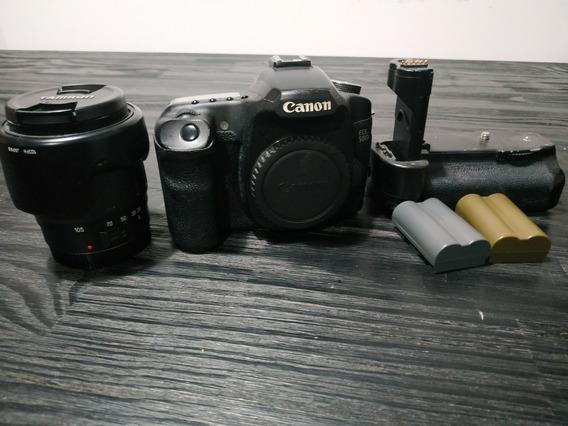 Canon 50d + Lente 28-105