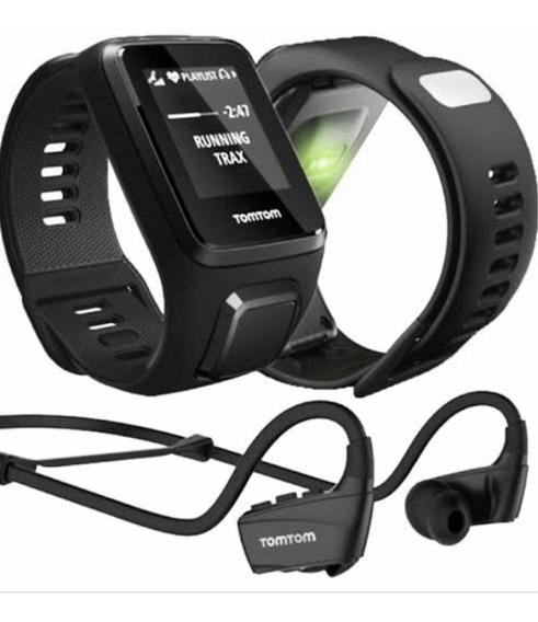 Monitor De Atividade Física - Tomtom - Spark Cardio C/ Fone