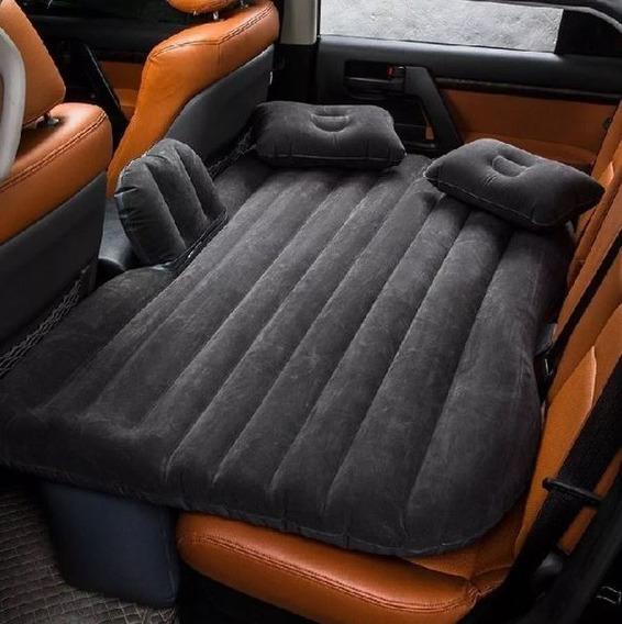 Air Bed Colchón Inflable Gris P/auto 135x86.4x10cm C/envío